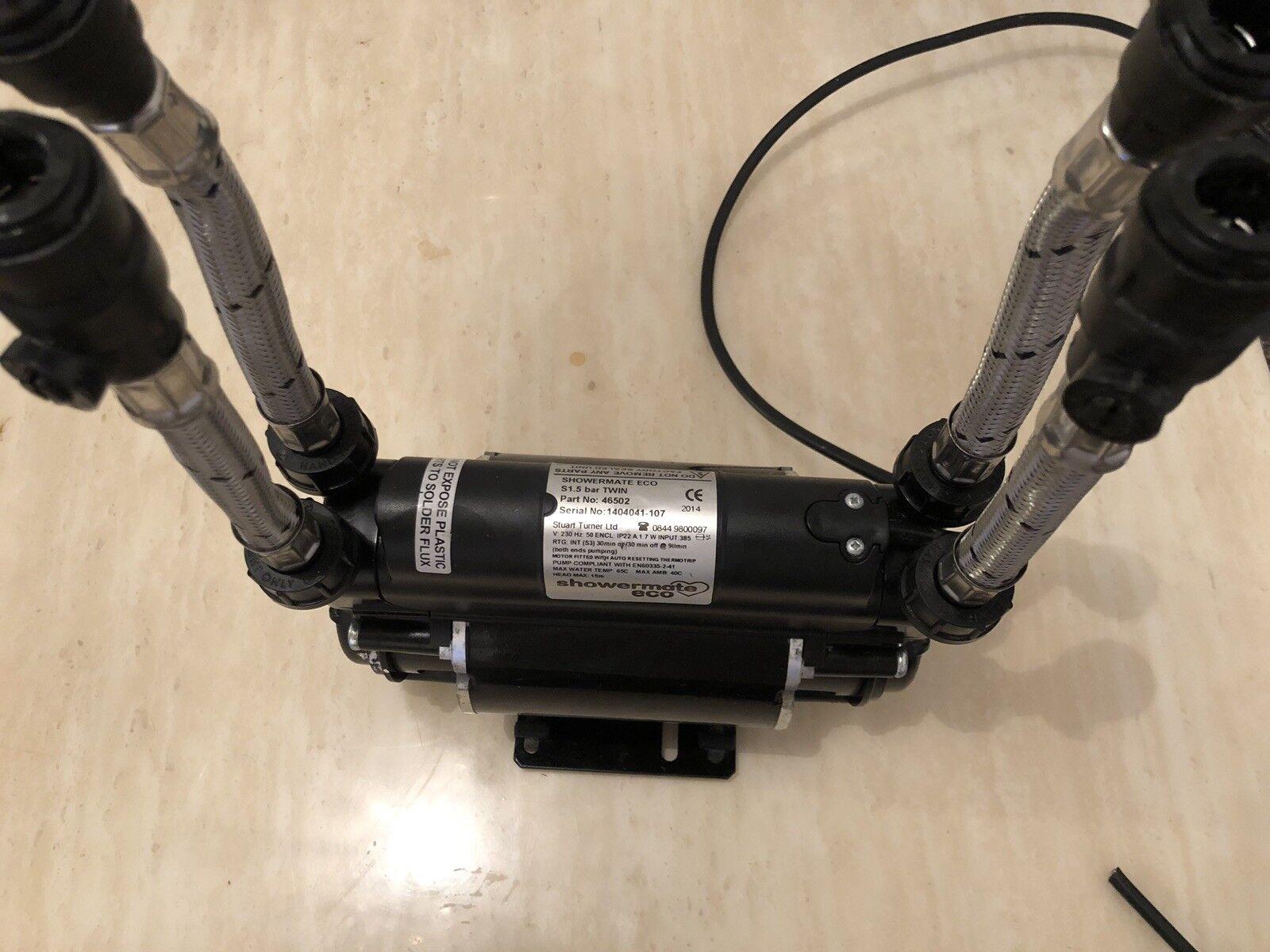 Bomba de ducha Stuart Turner showermate Eco S 1.5 Bar doble positivo