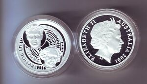 2001-Silver-5-Proof-Coin-Federation-Reid-Barton-ex-Masterpieces-in-Silver-Set