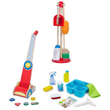 Kids Cleaning Dust Mop Sweep Spray and Vacuum Cleaner by Melissa and Doug