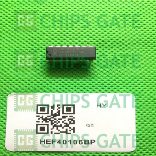 9PCS HEF40106BP DIP-14 Hex inverting Schmitt