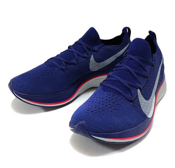 NIKE Zoom Vaporfly 4% Flyknit Royal bluee AJ3857-400 EKIDEN Pack shoes New