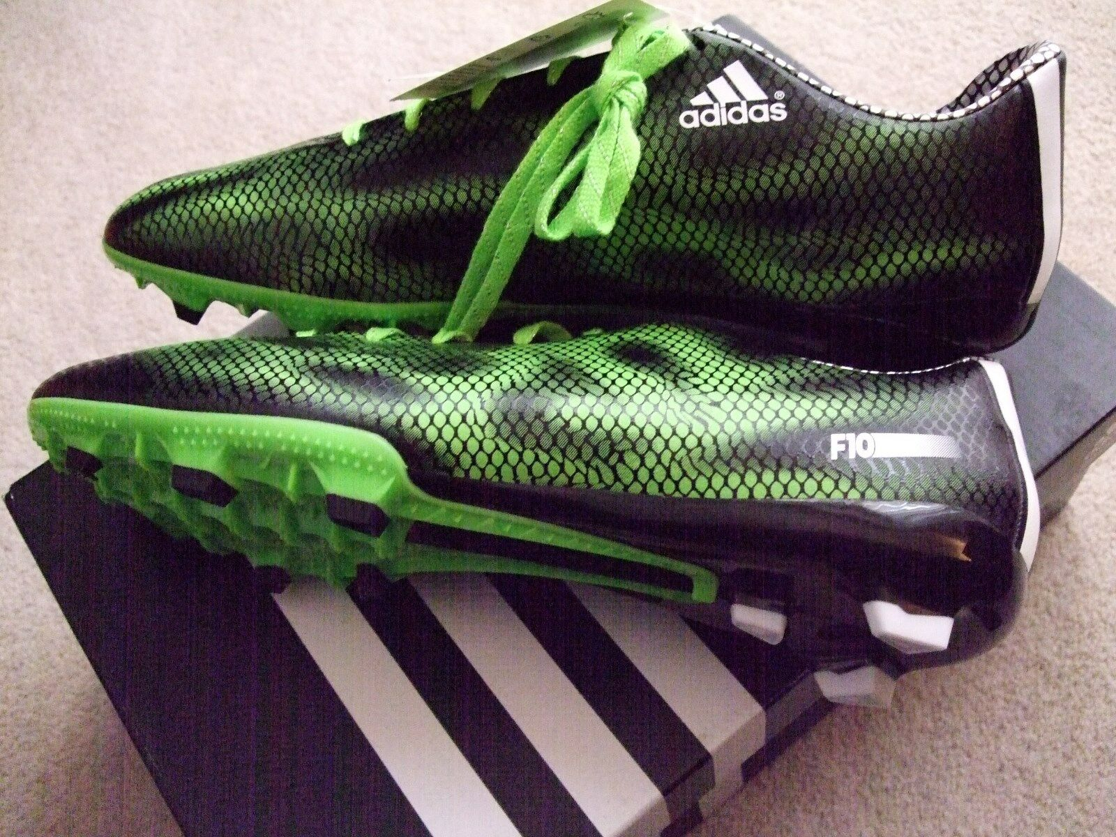 adidas mens size f 10 fg football/soccer boots. Price reduction Seasonal price cuts, discount benefits