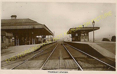 Ellenbrook to Leigh and Howe Bridge Lines. Tyldesley Railway Station Photo 2