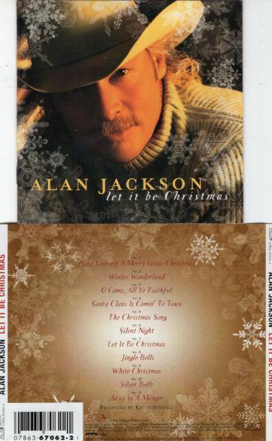 ALAN JACKSON - LET IT BE CHRISTMAS (CD 2002) 11 TRACKS | eBay