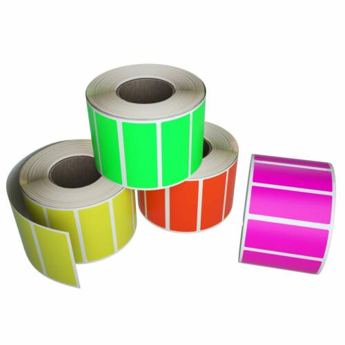 """Rectangle Marking Stickers 40mm x 19mm Labels for Decoration Art 1.57/"""" x 0.75/"""""""