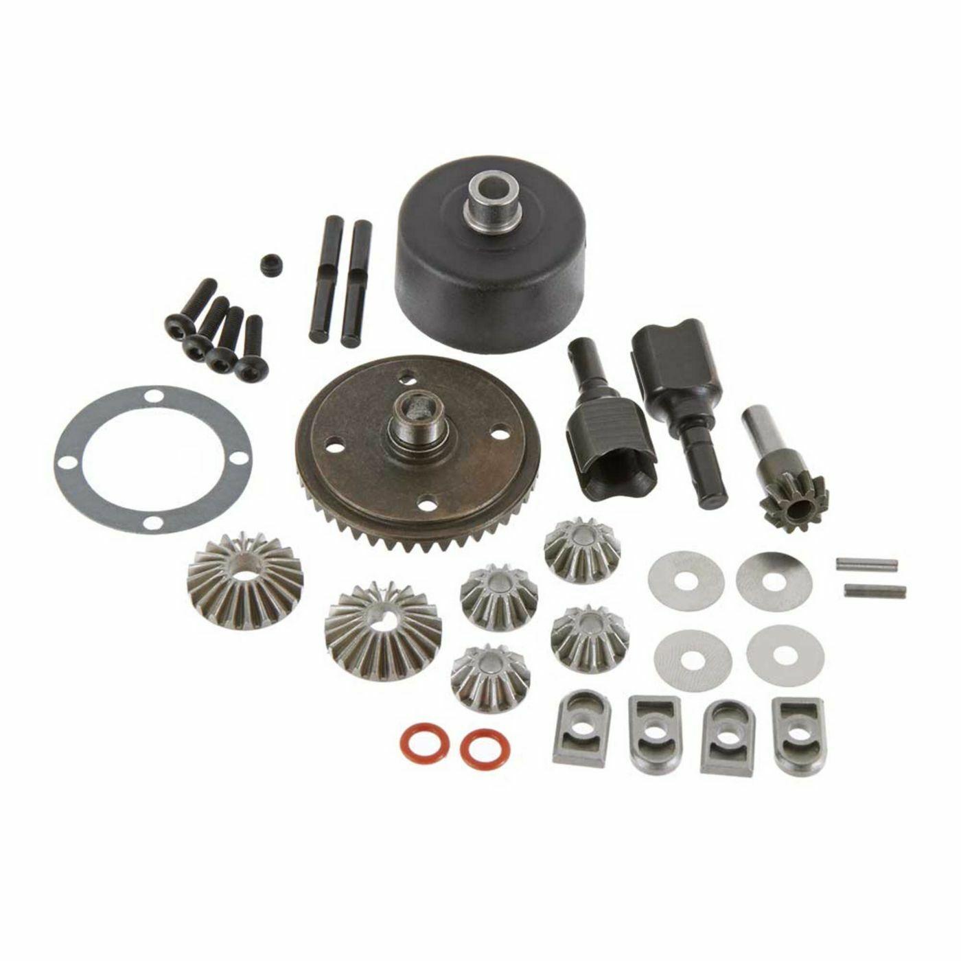 Arrma Kraton EXB 6s Rear Open Differential Diff Spiral Ring /& Pinion GP4 Gears
