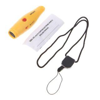2Pcs Handheld Electronic Whistle 3-TONE Sports Training Whistle w// Lanyard