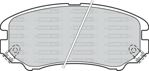 OEM SPEC FRONT AND REAR PADS FOR KIA SPORTAGE 2.0 2004-10