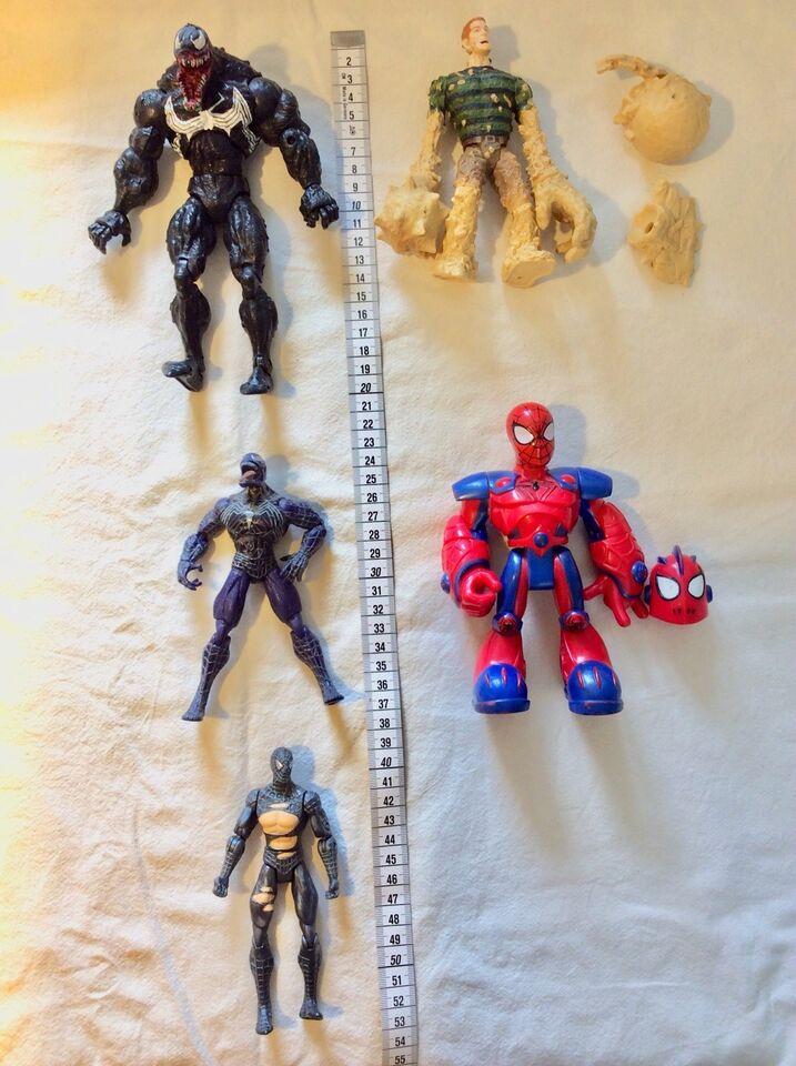 Spiderman, hulk, Ironman