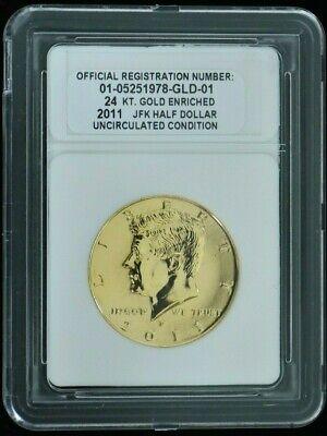2011-D Kennedy Half Dollar Uncirculated BU Nice No Problem Coin