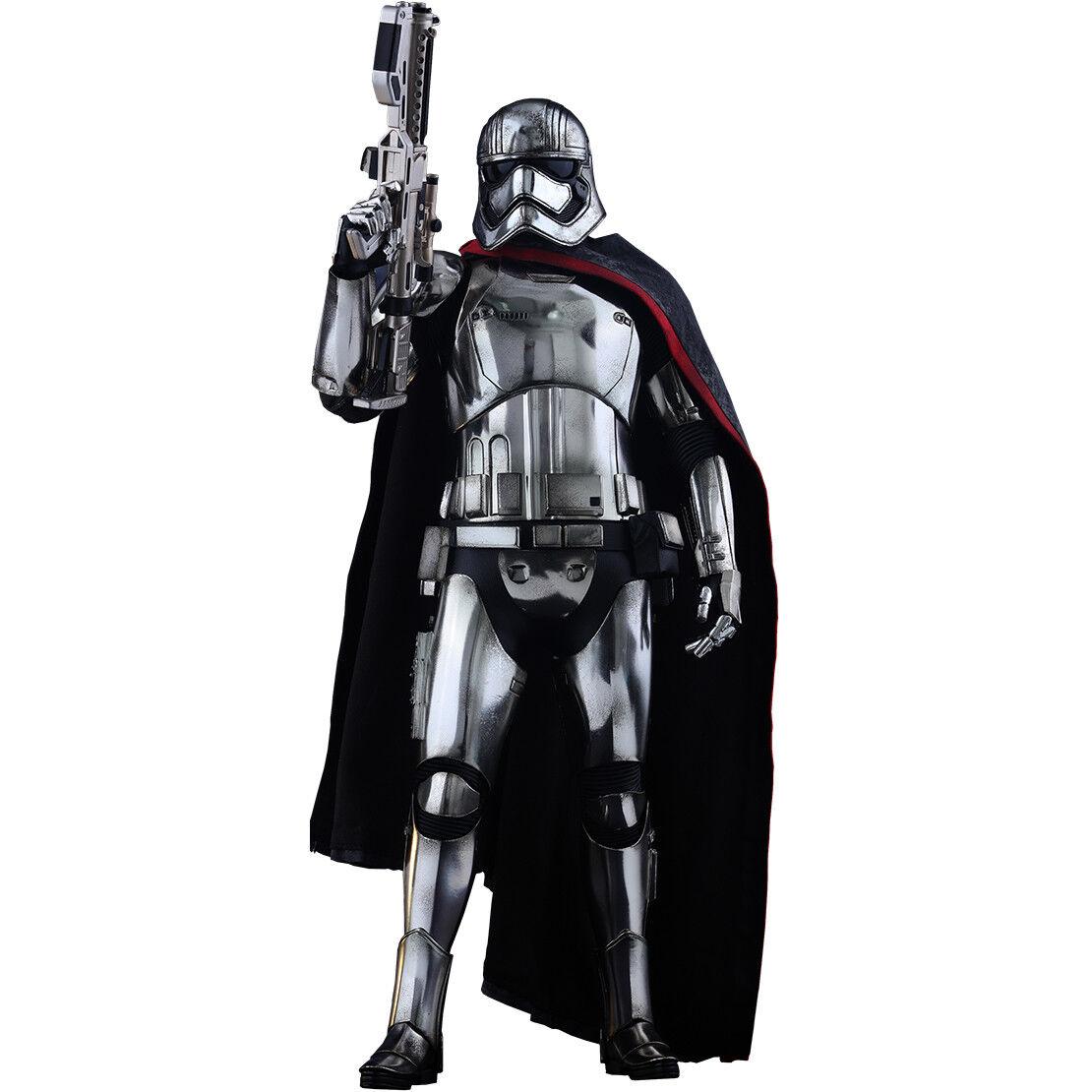 Star Wars Episodio VII: la fuerza despierta-capitán phasma Hot Toys Escala 16th un