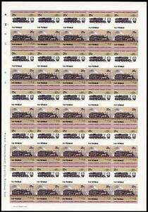 1928 Boston amp Albany BampA Class D1a 466T ImperfImperforate Train Stamp Sheet - Pontypridd, United Kingdom - 1928 Boston amp Albany BampA Class D1a 466T ImperfImperforate Train Stamp Sheet - Pontypridd, United Kingdom