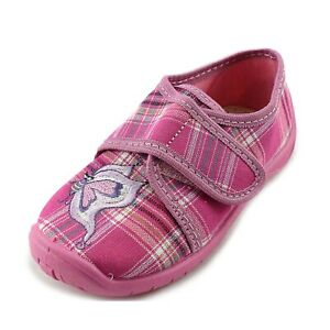 Slippers Kornecki Girls Canvas Shoes made in Poland Loafers
