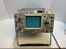 Vintage Tektronix 465 B Oscilloscope Scope Broadcast Test Gear M 356