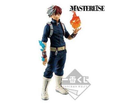 BANDAI Ichiban kuji My Hero Academia One/'s Justice Masterlise figure Todoroki