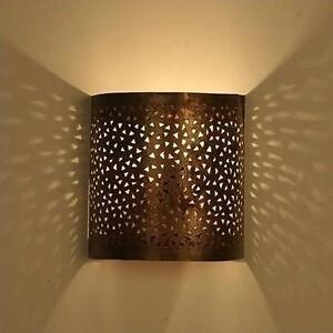 Oriental wall lamp light lampshade moroccan wall light meditera ebay image is loading oriental wall lamp light lampshade moroccan wall light aloadofball Images