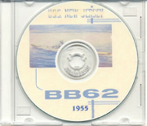 USS-New-Jersey-BB-62-1955-CRUISE-BOOK-CD-RARE-Navy