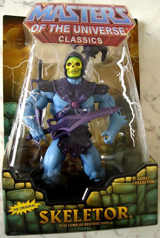 Masters del universo clásicos _ tenebroso figura _ 2nd Edición Limitada Release _ _ Menta en paquete