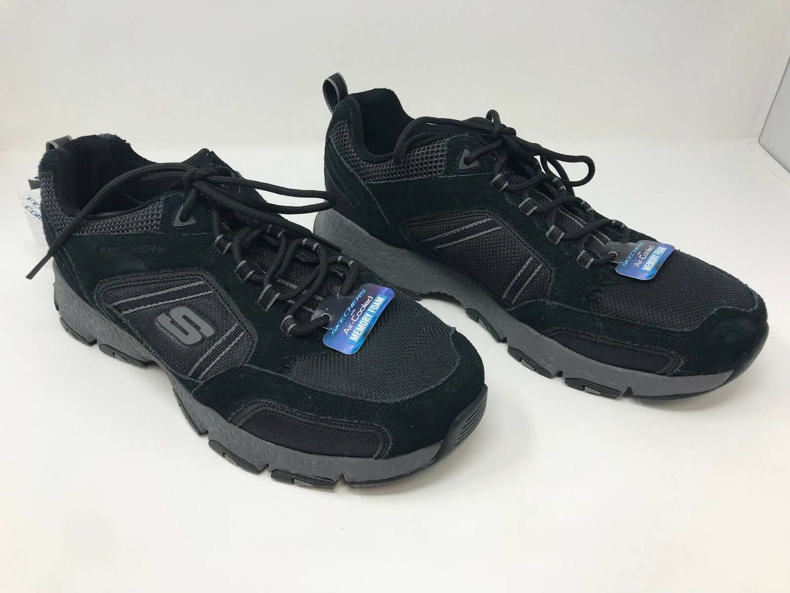 New! Men's Skechers 51580 Sports Burst Tech Sneakers Black/Gray F25 best-selling model of the brand