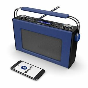 Cottenham-Digital-DAB-DAB-FM-Portable-Radio-Bluetooth-Leather-Effect-Finish