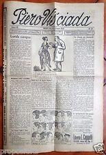 gx 02 Trieste PIERO VIS'CIADA Settimanale satirico - 4 giugno 1923