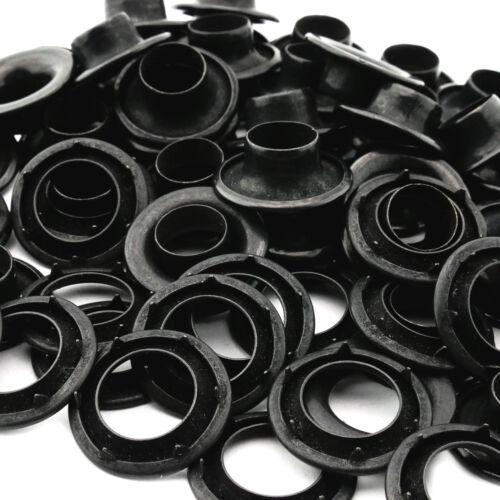 Osborne Black Grommets /& Spur Washers #B2-3 144 Sets C.S Size 3