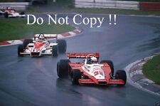 Keke Rosberg Theodore Racing Wolf WR3 Austrian Grand Prix 1978 Photograph 2