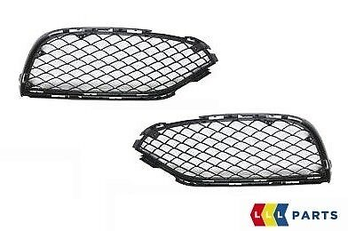 NEW GENUINE MERCEDES BENZ MB C63 W205 AMG FRONT BUMPER LOWER GRILL SET PAIR L+R