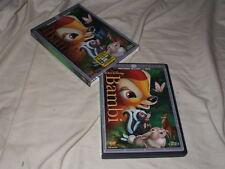 Bambi (1942) BLU-RAY+DVD Walt Disney Animation Classic Thumper Flower Owl
