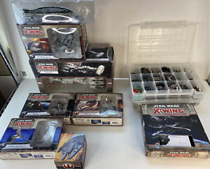Star Wars X-Wing Miniatures Collection / Lot- Excellent Condition!! Huge!!