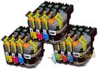12 LC123 Ink Cartridges For Brother MFC-J6720DW MFC-J6920DW MFC-J870DW non-OEM