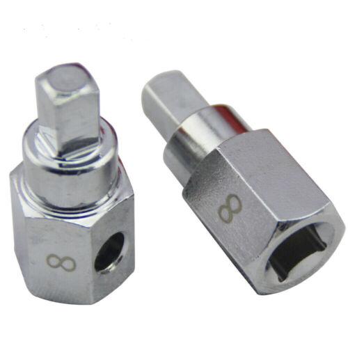 "8mm 5//16/"" Square Oil Drain Plug Key Removal Tool for Citroen Peugeot Renault"