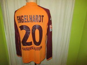 1-FC-Kaiserslautern-Kappa-Langarm-Matchworn-Trikot-Nr-20-Engelhardt-Gr-L-XL