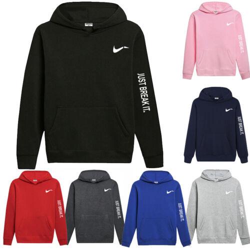 Men/'s Hoodie Sweater Hoody Outwear Pockets Skateboard Fleece Warm Pullover Coat