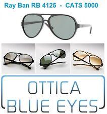 Occhiali da Sole RAYBAN CATS 5000 RB 4125 Ray Ban ORIGINAL Sunglasses Sonnenbril