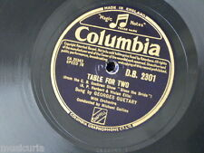 78rpm GEORGES GUETARY table for two / la belle marguerite
