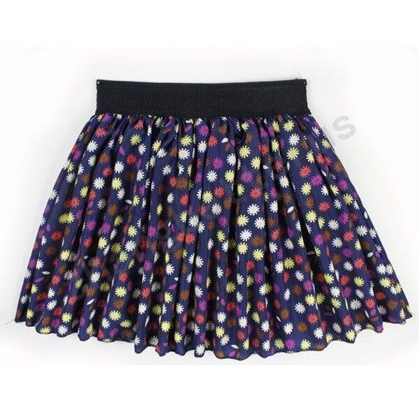 New Style Fashion Women Summer Cool Casual Chiffon Dress Mini Pleated Skirt