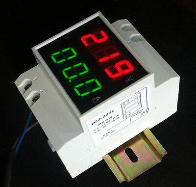 Digital AC80-300V 0-100A LCD DISPLAY PANEL VOLT/AMP Meter