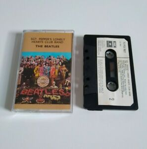 THE BEATLES SGT. PEPPERS LONELY HEARTS CLUB BAND CASSETTE TAPE PARLOPHONE 1967