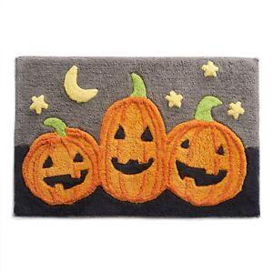 NWT Velvet Plush Fall Pumpkin Leaves Gather Harvest Grateful Throw Blanket