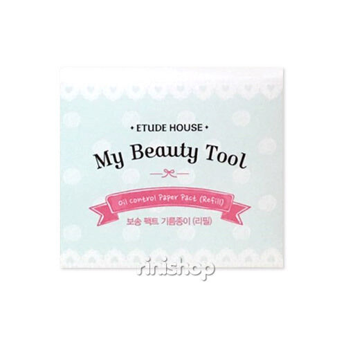 [ETUDE HOUSE] My Beauty Tool Oil Clear Paper Pact - Refill 50paper Rinishop