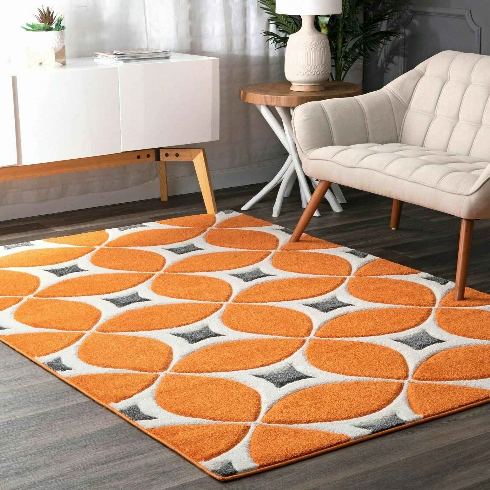Nuloom Bhbc55a Hand Tufted Gabriela Area Rug 2 X 3 Deep Orange For Sale Online Ebay