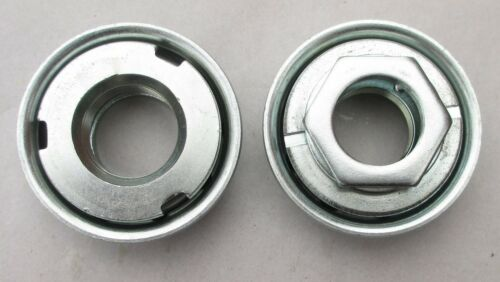 American One-piece Schwinn Type 28TPI BB Cup Set for Schwinn cranks Silver