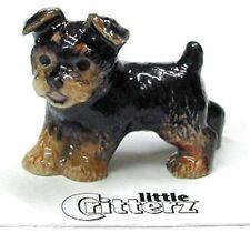 ➸ LITTLE CRITTERZ Dog Miniature Figurine Yorkshire Terrier Yorkie Smoky