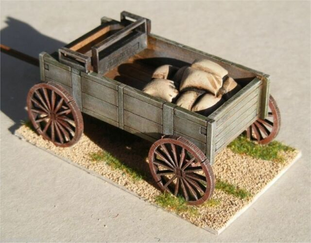 Old West Cowboy PLANKED WAGON Accessory Pack  25mm, 28mm Terrain D035