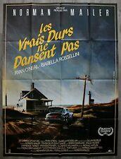 LES VRAIS DURS NE DANSENT PAS Affiche Cinéma / Movie Poster Isabella Rossellini