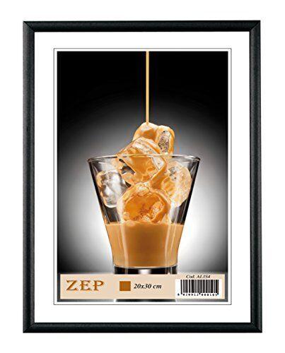 ZEP Basic Bilderrahmen Format 10x15 cm black schwarz Aluminium Fotorahmen Deko