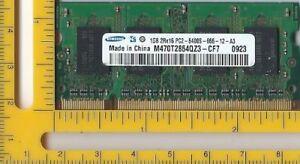 Samsung  DDR2  1 GB  SODIMM 200pin Part Number M470T2864QZ3CF7 - Dunstable, United Kingdom - Samsung  DDR2  1 GB  SODIMM 200pin Part Number M470T2864QZ3CF7 - Dunstable, United Kingdom