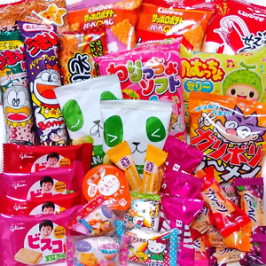 JAPANESE-CANDY-DAGASHI-SET-Chocolate-Snack-Gummy-Cookie-amp-Jelly-made-yourself