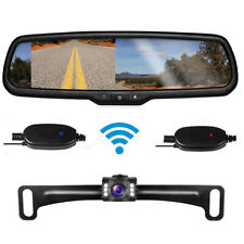 43 Lcd Wireless Car Rear View Mirror Monitor Oem Night Vision Backup Camera Fits Ford